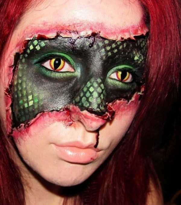 realistic halloween makeup ideas 25 pictures