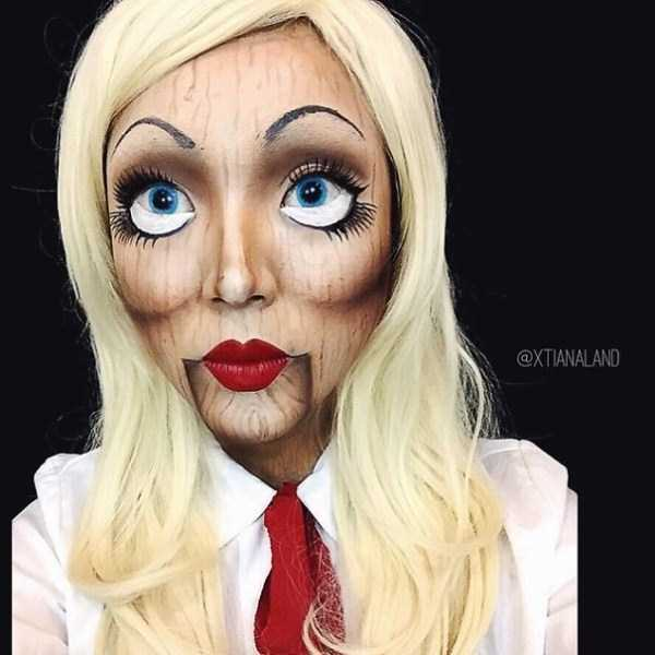 realistic halloween makeup ideas 26 pictures