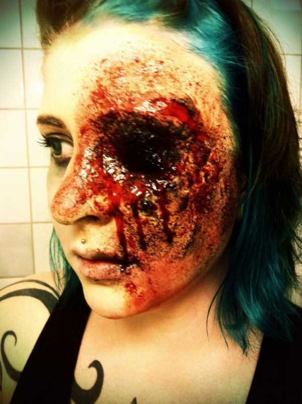 realistic halloween makeup ideas 28 pictures