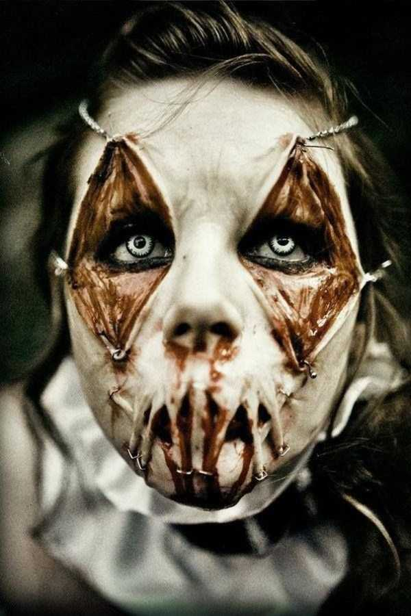 realistic halloween makeup ideas 3 pictures