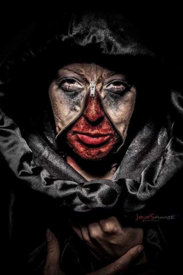 realistic halloween makeup ideas 6 pictures