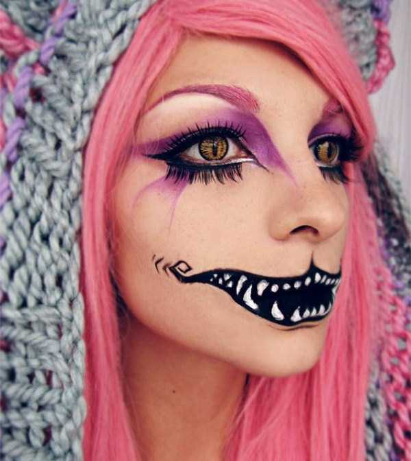 realistic halloween makeup ideas 7 pictures