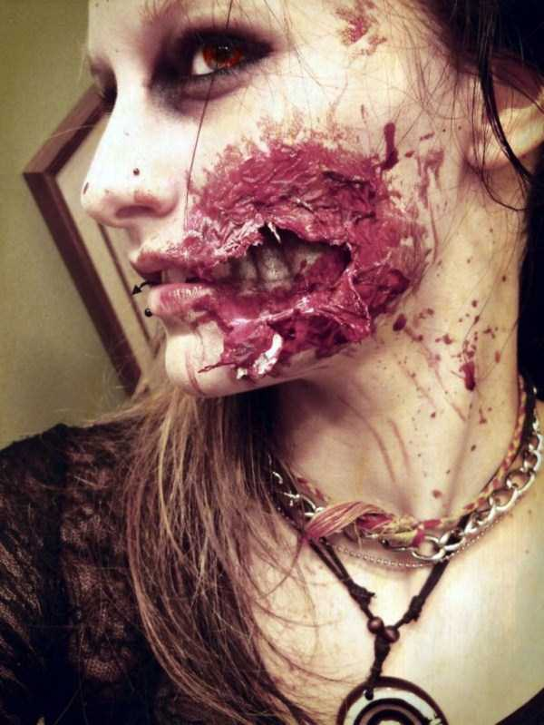 realistic halloween makeup ideas 8 pictures