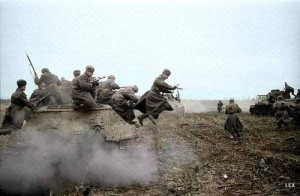 Colorized Photos of Soviet Red Army in WW II (40 photos)  1