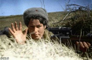 Colorized Photos of Soviet Red Army in WW II (40 photos)  12