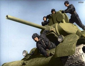 Colorized Photos of Soviet Red Army in WW II (40 photos)  16