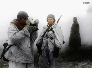 Colorized Photos of Soviet Red Army in WW II (40 photos)  17