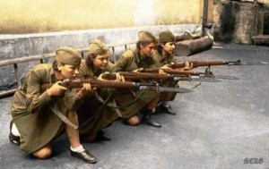 Colorized Photos of Soviet Red Army in WW II (40 photos)  29