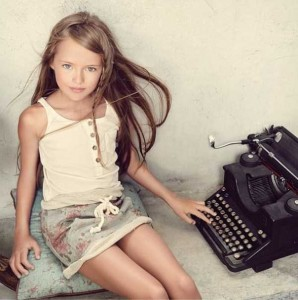 9-year-old Star of Fashion Magazines (26 photos) 23