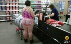 Walmart Customers Proudly Show Off Their Buttcracks (41 photos) 14