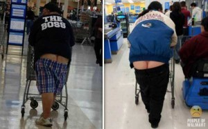 Walmart Customers Proudly Show Off Their Buttcracks (41 photos) 17