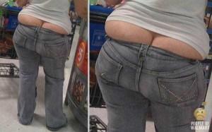 Walmart Customers Proudly Show Off Their Buttcracks (41 photos) 18