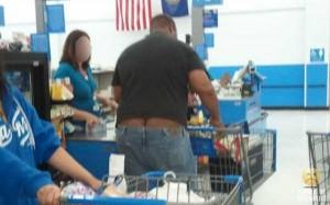 Walmart Customers Proudly Show Off Their Buttcracks (41 photos) 40