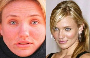 What 20 Famous Women Look Like Without Makeup (20 photos) 4