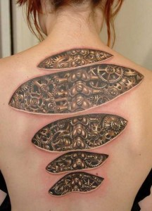 Truly Amazing 3D Tattoo Designs (50 photos) 13
