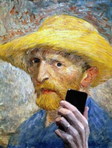 Famous Paintings Snapping Selfies (29 photos) 21