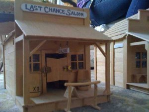 An Old West Town Made Entirely Out of Popsicle Sticks (28 photos) 1
