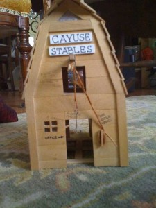 An Old West Town Made Entirely Out of Popsicle Sticks (28 photos) 11