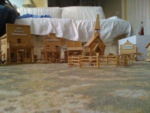 An Old West Town Made Entirely Out of Popsicle Sticks (28 photos) 13