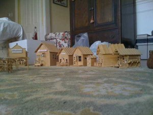 An Old West Town Made Entirely Out of Popsicle Sticks (28 photos) 15