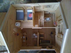 An Old West Town Made Entirely Out of Popsicle Sticks (28 photos) 16