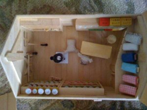 An Old West Town Made Entirely Out of Popsicle Sticks (28 photos) 22