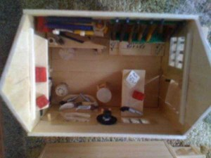 An Old West Town Made Entirely Out of Popsicle Sticks (28 photos) 24