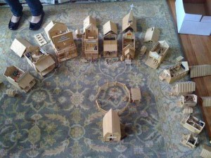 An Old West Town Made Entirely Out of Popsicle Sticks (28 photos) 28
