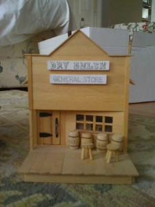 An Old West Town Made Entirely Out of Popsicle Sticks (28 photos) 7