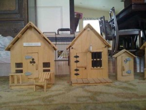 An Old West Town Made Entirely Out of Popsicle Sticks (28 photos) 9