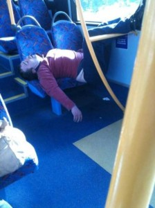 Some People Can Sleep Literraly Anywhere (43 photos) 18
