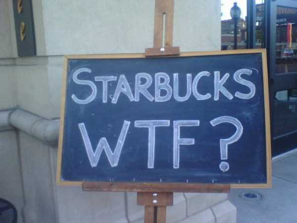 24 WTF Things Spotted at Starbucks (24 photos) 23