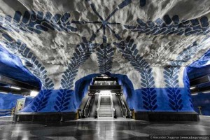 The Stockholm Subway System is Stunningly Unreal (19 photos) 1