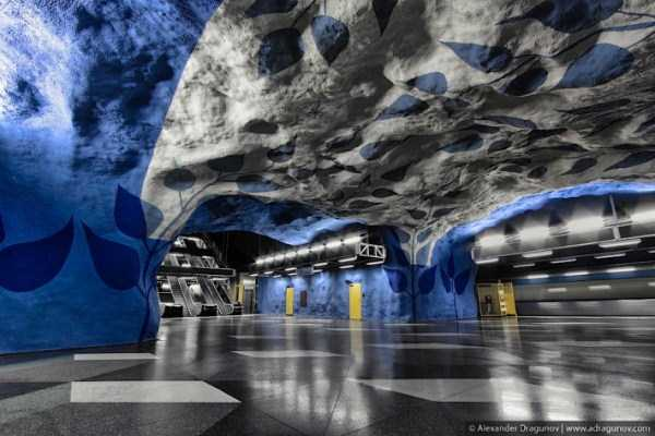 The Stockholm Subway System is Stunningly Unreal (19 photos) 19