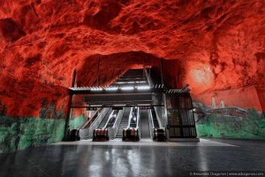 The Stockholm Subway System is Stunningly Unreal (19 photos) 4