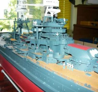 Remarkable USS Arizona Battleship Plastic Model Kit (73 photos)