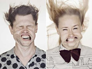 Hilariously Distorted Portraits Taken in a Wind Tunnel (15 photos) 3