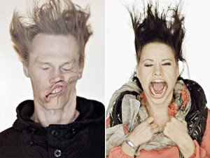Hilariously Distorted Portraits Taken in a Wind Tunnel (15 photos) 8
