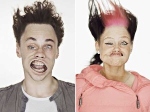 Hilariously Distorted Portraits Taken in a Wind Tunnel (15 photos) 9