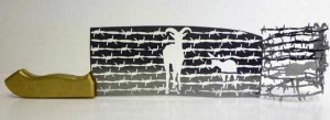 Beautiful Silhouettes Made of Butcher Knife's Cutout (12 photos) 7