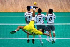 Sepaktakraw: Weird Yet Cool Sport From Asia (27 photos) 12