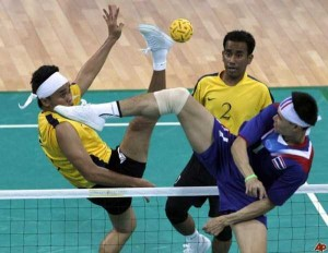 Sepaktakraw: Weird Yet Cool Sport From Asia (27 photos) 4