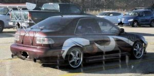 Silly Car Mods That Bring Instant Attention (28 photos) 2