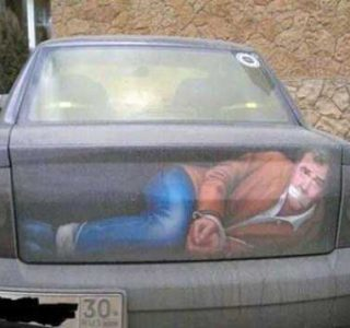Silly Car Mods That Bring Instant Attention (28 photos)