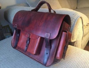 How to Make Your Own Leather Bag (12 photos) 12