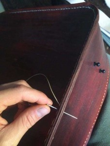 How to Make Your Own Leather Bag (12 photos) 9