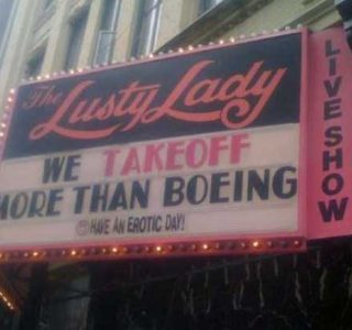 Memorable and Catchy Strip Club Names and Signs (28 photos)