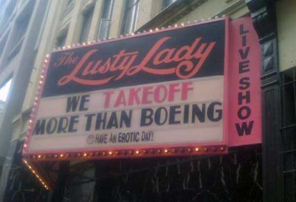 Memorable and Catchy Strip Club Names and Signs (28 photos) 28