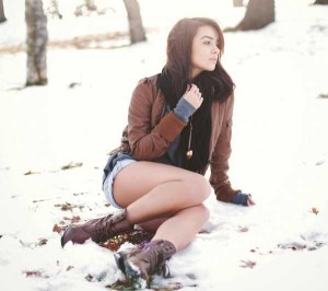 Girls Who Are Not Afraid of Cold Weather (34 photos) 17