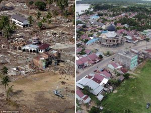 10 Years After the Devastating Tsunami in Indonesia (13 photos) 12